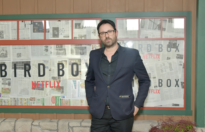 Author of the novel, Josh Malerman attends the New York screening of 'Bird Box'