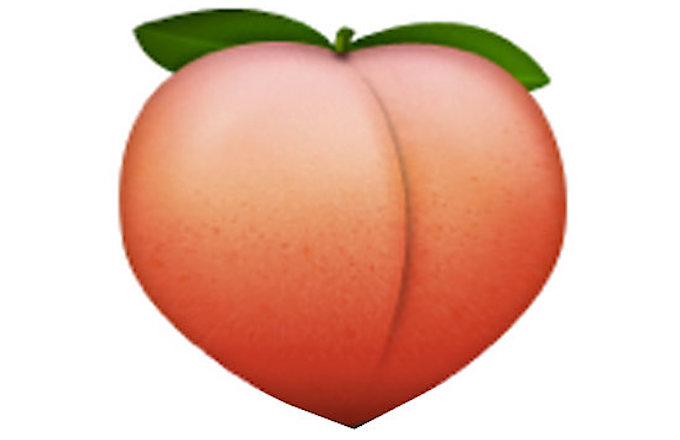 Image result for peach emoji