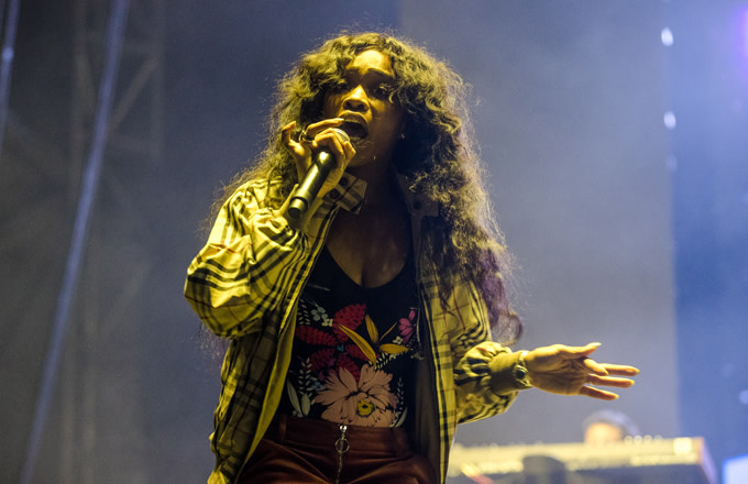 SZA Performs at Buku Fest