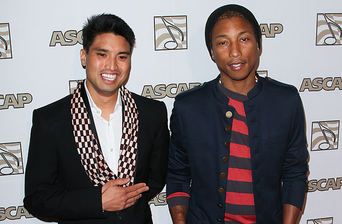 This is a photo of Chad Hugo.