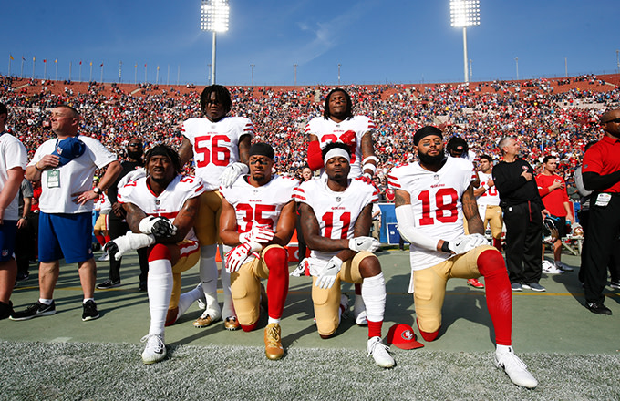 This is a photo of Kneeling.