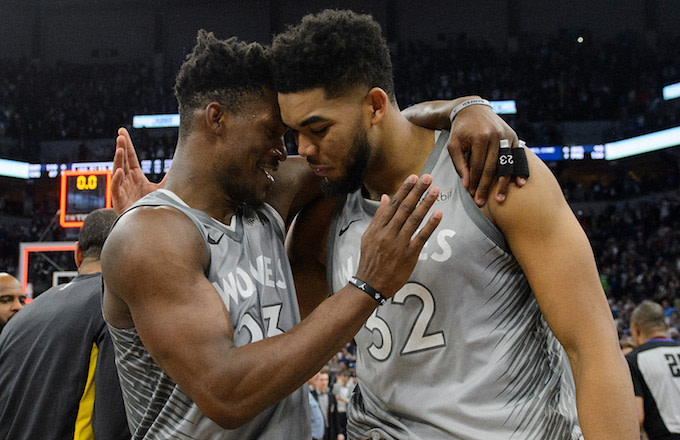 Jimmy Butler, Karl-Anthony Towns