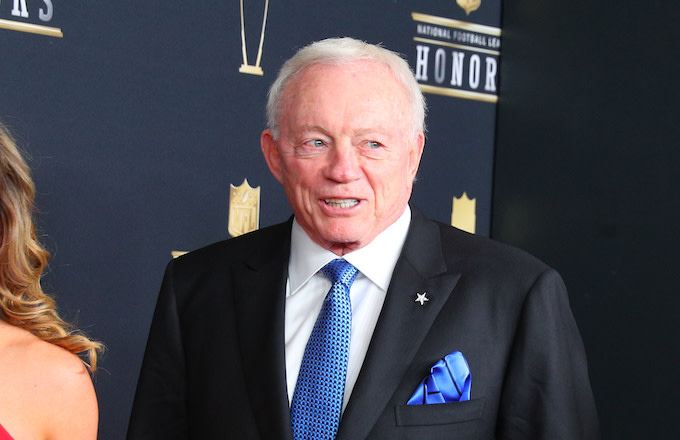 Jerry Jones Admits To Negotiating Dez Bryant Contract With