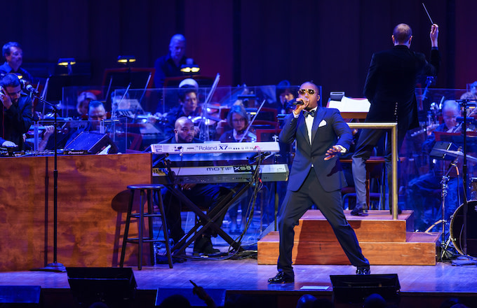 Rapper Nas performs his classic debut album 'Illmatic' at the Kennedy Center.