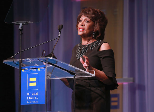 This is a picture of Maxine Waters.