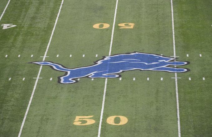 The Detroit Lions logo