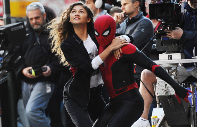 A scene from 'Spider Man: Far From Home'