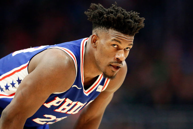 This is a picture of Jimmy Butler.