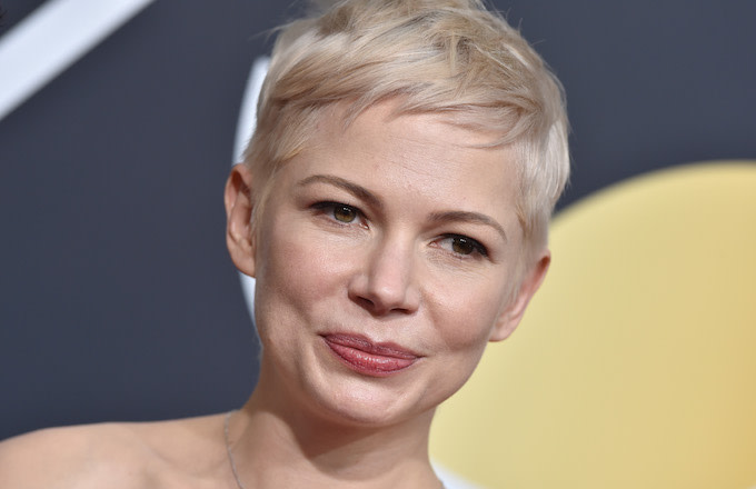 Michelle Williams at the 75th Annual Golden Globe Awards
