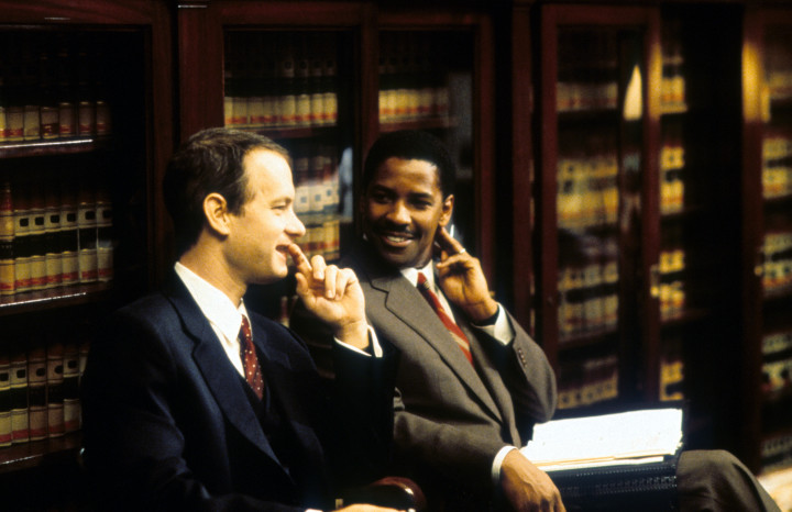 Tom Hanks & Denzel Washington in 'Philadelphia'