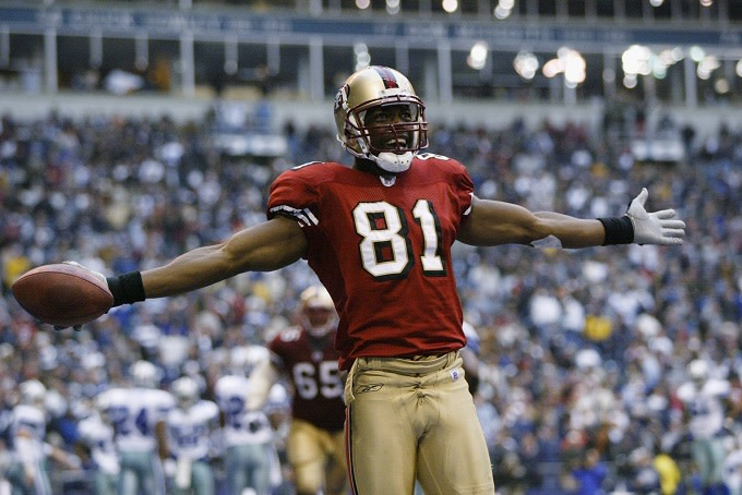02cafa84ab5 Terrell Owens Won't Show 49ers Love If He Gets Into the Hall of Fame ...