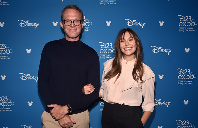 Paul Bettany and Elizabeth Olsen