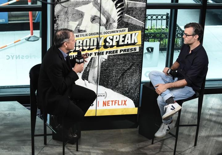 Brian Knappenberger, director of 'Nobody Speak: Trials of the Free Press'