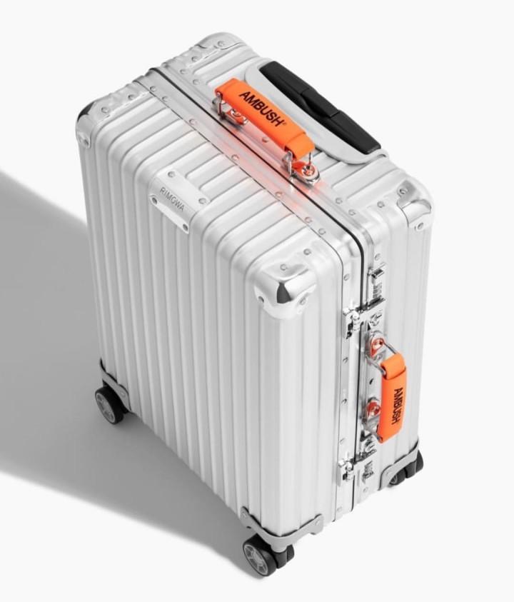 Ambush x Rimowa Varnished Leather Luggage Handle