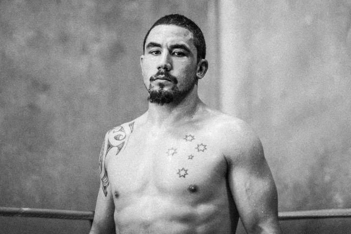 Australian UFC fighter Robert Whittaker