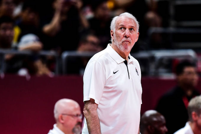 This is a picture of Popovich.