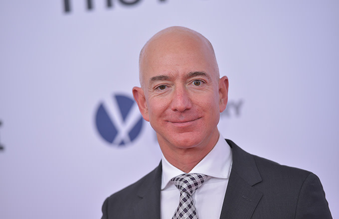 This is a photo of Jeff Bezos.