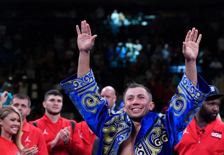 Gennady Golovkin Rolls KO 2019 MSG Getty