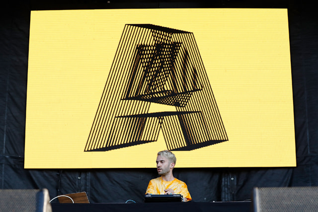 A-Trak performs onstage during Day 2 at The Meadows Music & Arts Festival