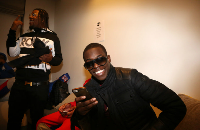 Rowdy Rebel and Bobby Shmurda attend BET's '106 & Party' at BET Studios