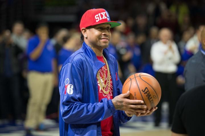 Allen Iverson Knicks Sixers April 2016