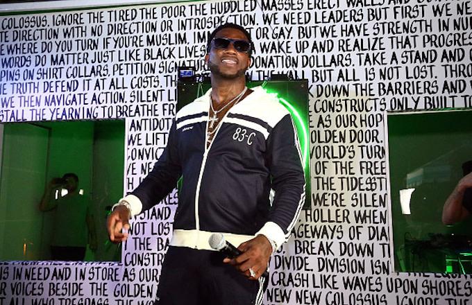 Rapper Gucci Mane performs at Public School And The Confidante Present WNL Radio