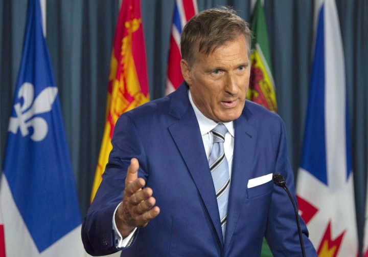 Maxime Bernier Launches 'The People's Party of Canada'