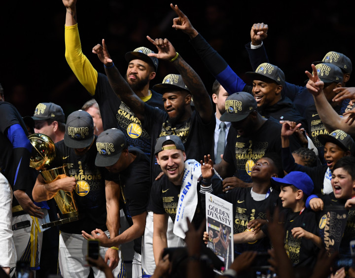 Golden State Warriors Quicken Loans Arena Game 4 NBA Finals 2018