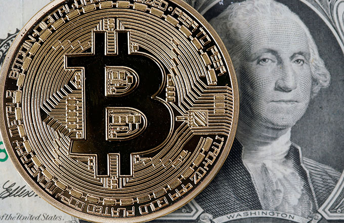 This is a photo of Bitcoin.