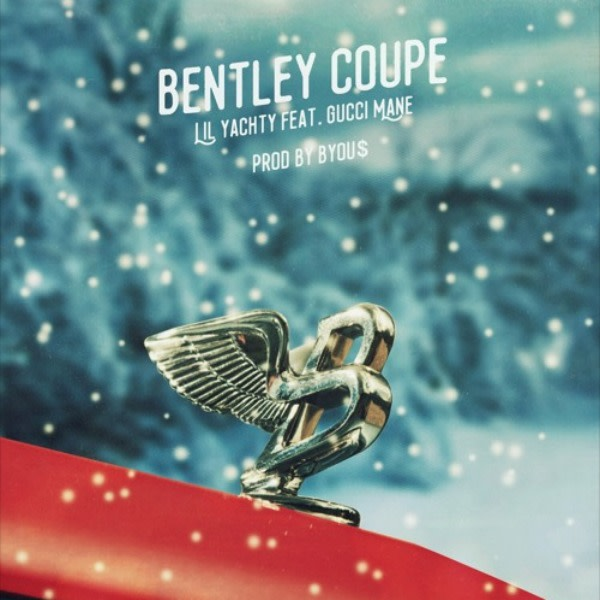"Lil Yachty & Gucci Mane's ""Bentley Coupe"" single cover."