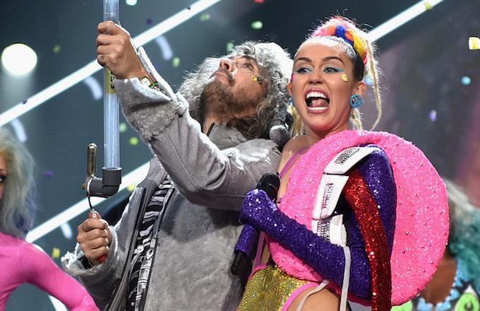 Wayne Coyne Miley Cyrus