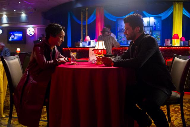 Ruth Negga and Dominic Cooper in 'Preacher' season 2