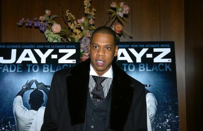 jay z black on black