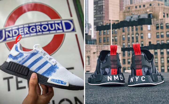 2c2a6c918f82f adidas and Foot Locker Europe Combine for the NMD 'Printed Series' Inspired  by London and NYC
