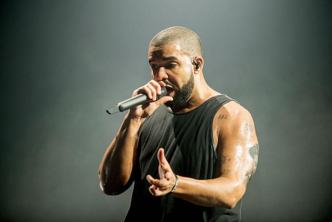 Drake in Glasgow