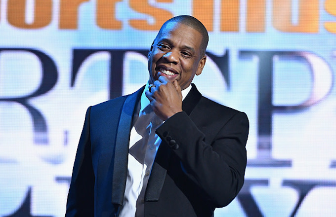 Jay Z speaks onstage during the Sports Illustrated Sportsperson of the Year Ceremony 2016