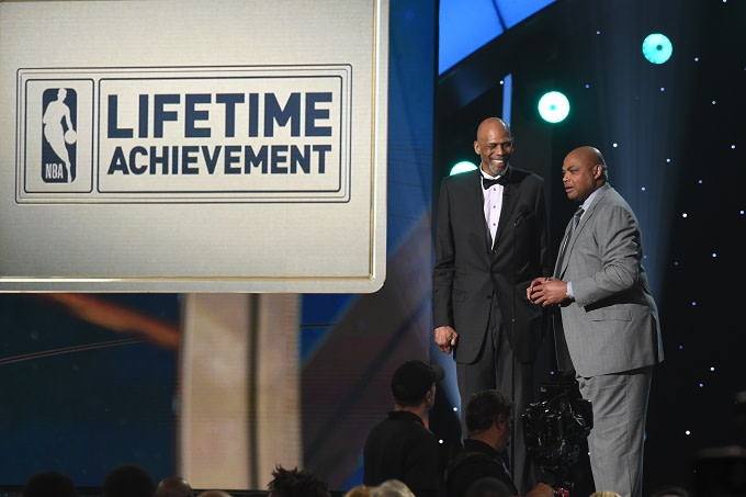 Bill Russell and Charles Barkley