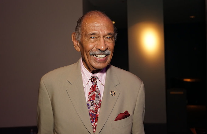 John Conyers Jr. attends the 45th Annual Legislative Conference Congressional Black Caucus