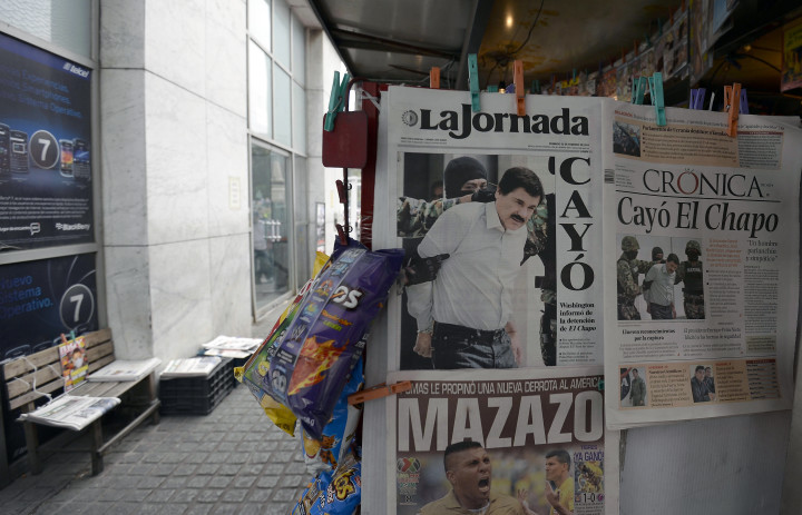 El Chapo newspaper