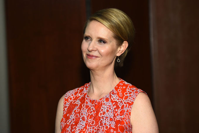 This is a picture of Cynthia Nixon.