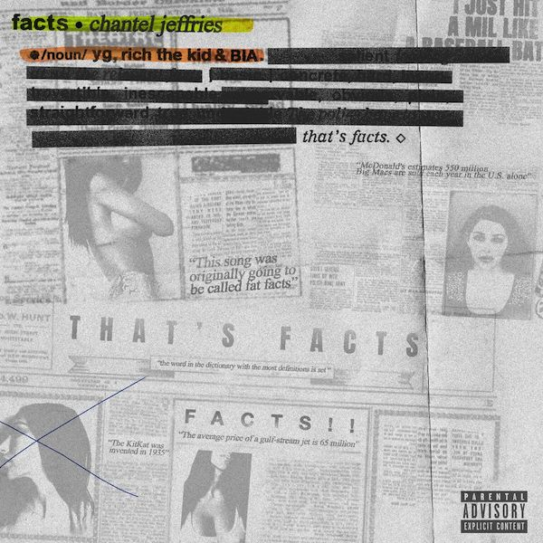 "Chantel Jeffries ""Facts"" f/ YG, Rich the Kid, and BIA"