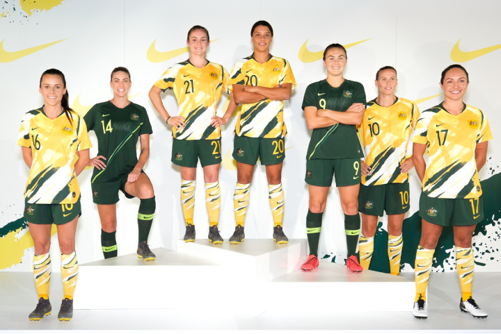 Australia Matildas Womens World Cup Jersey reveal
