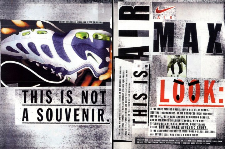 Vintage Ad Special Feature: Nike Air Max Ad Insert | Sole