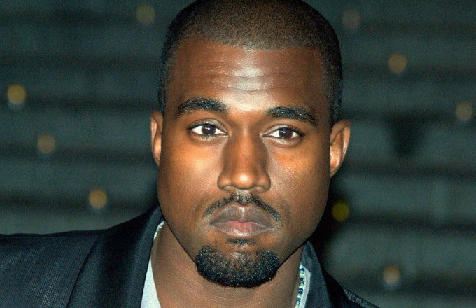 This is Kanye West posing from WikiCommons.