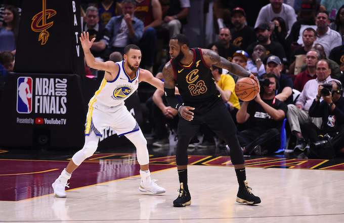 f7a78bc2ca4 Steph Curry to LeBron and Lakers: 'You've Still Got to Beat Us ...