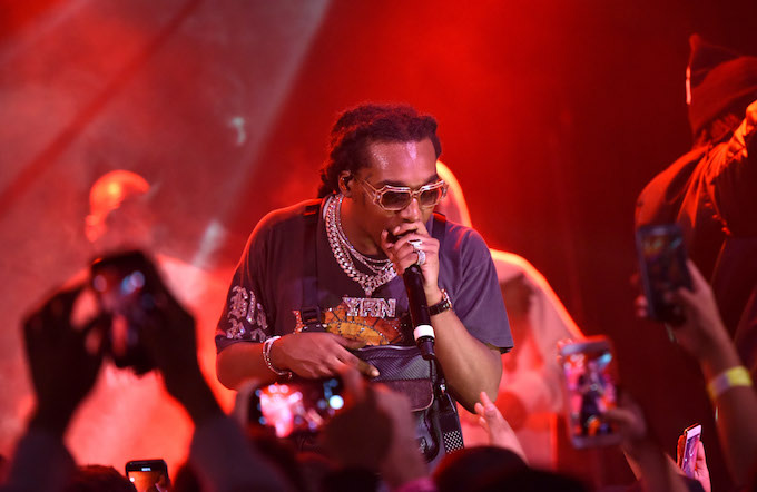 Takeoff performing in LA