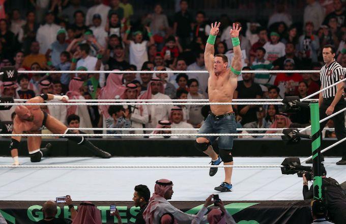John Cena in Saudi Arabia