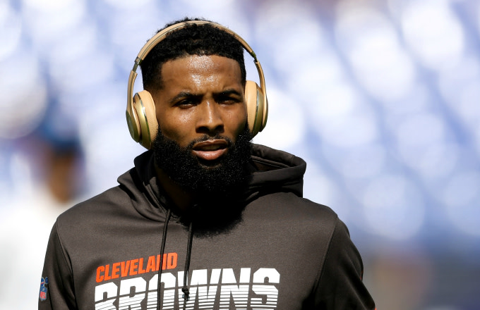 Wide receiver Odell Beckham #13 of the Cleveland Browns