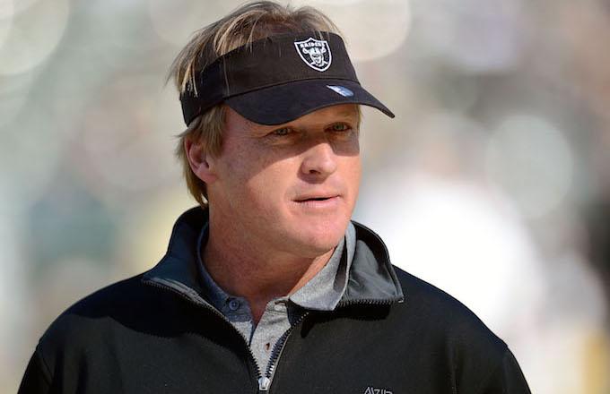 Oakland Raiders Coach Jon Gruden