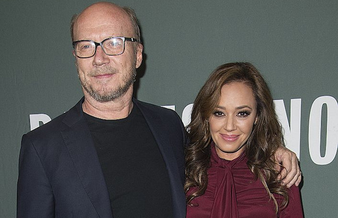 Paul Haggis and Leah Remini.